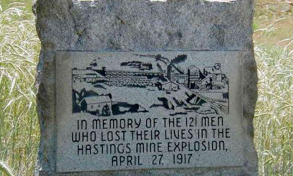 Hastings monument mining disaster true west magazine