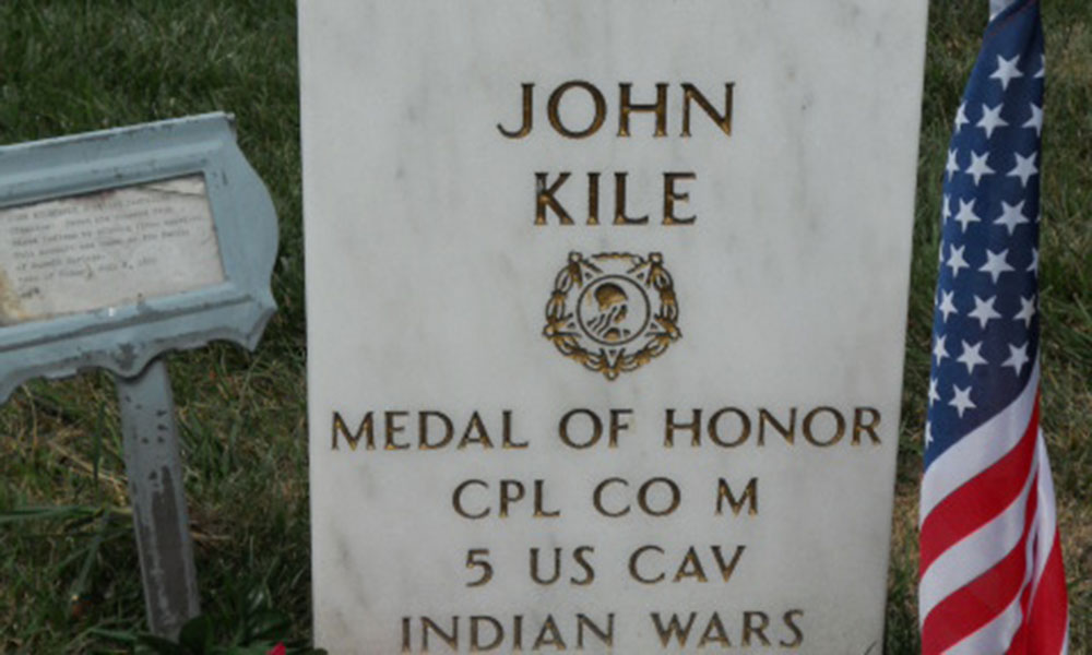 John Kile grave true west magazine