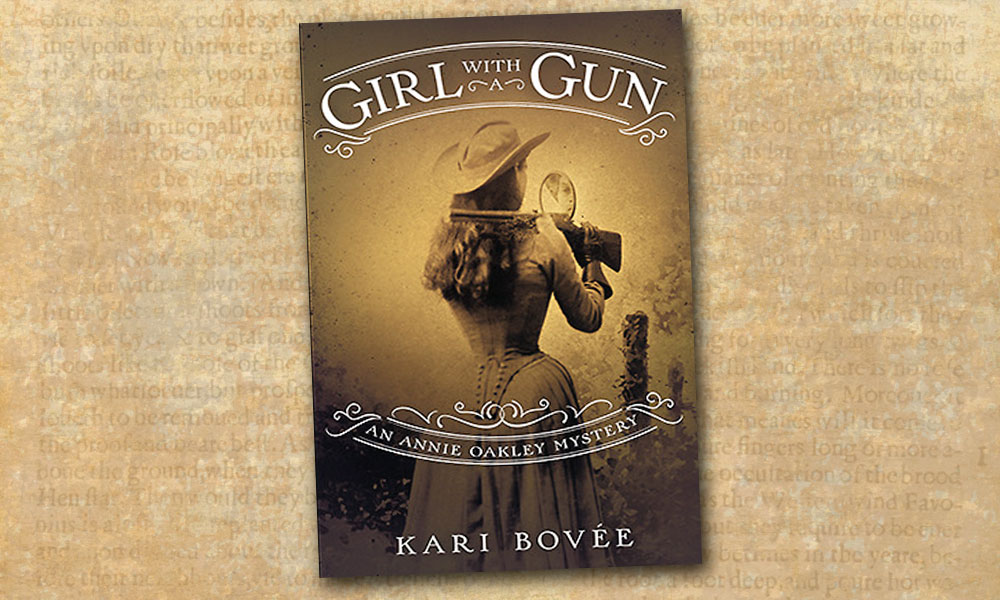 Girl With A Gun Annie Oakley Sharpshooter True West Magazine