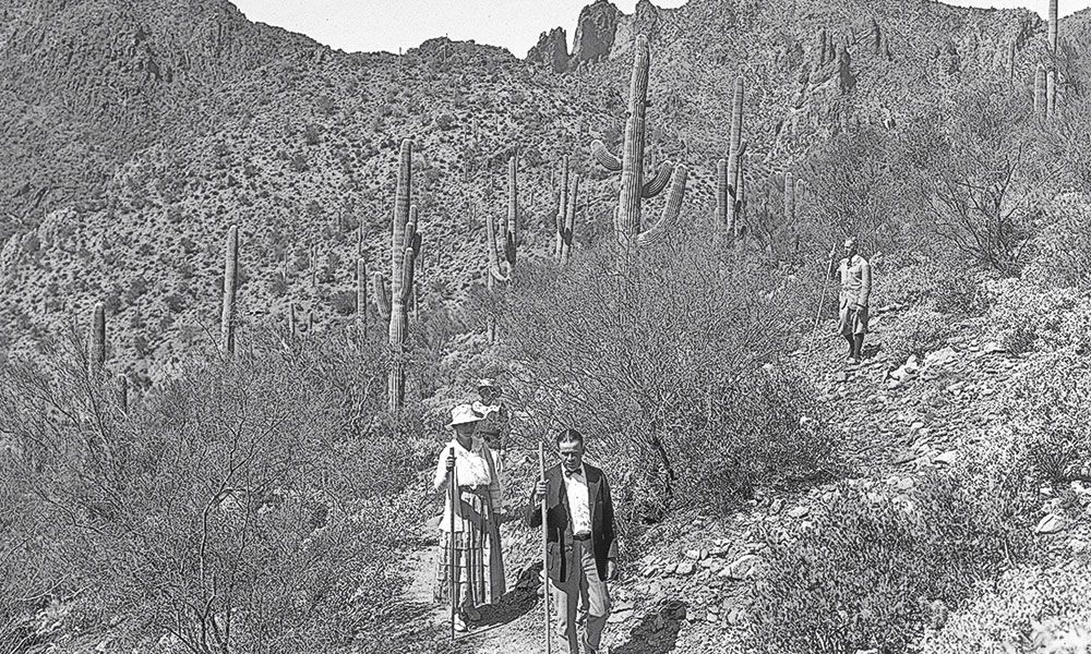 Arizona Hot Springs True West Magazine