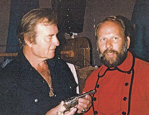 George Montgomery Erich Baumann Colt True West Magazine