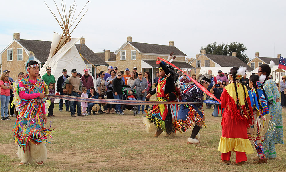 american indian dances tribal christmas old fort concho texas