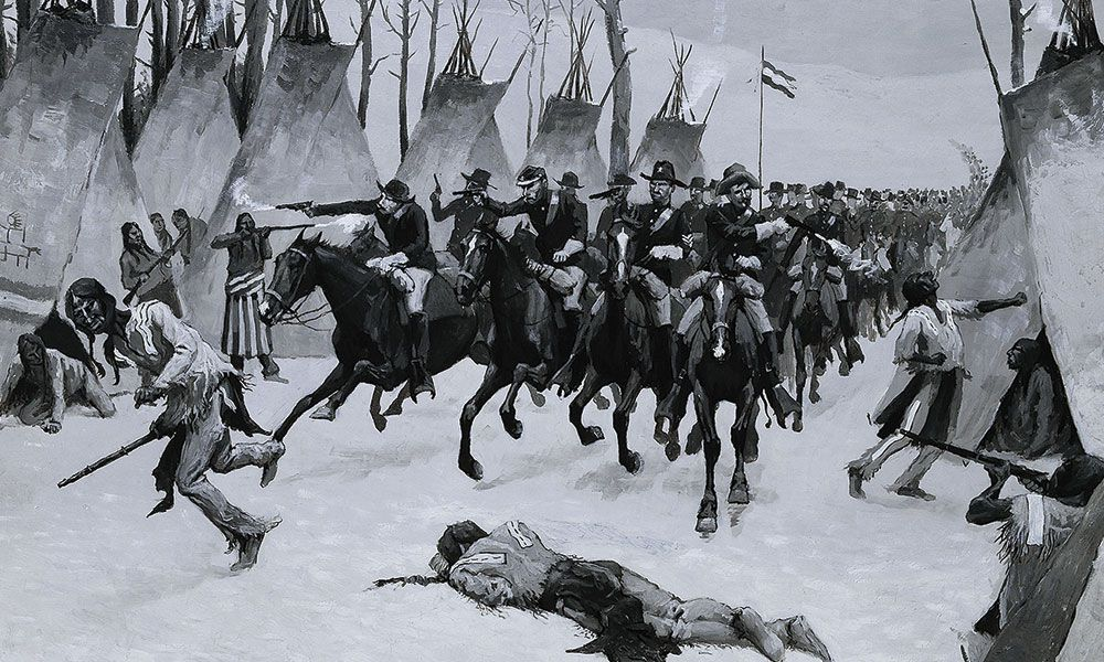 Battle of the Washita George Armstrong Custer