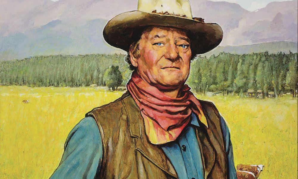 Norman Rockwell's Duke true west magazine