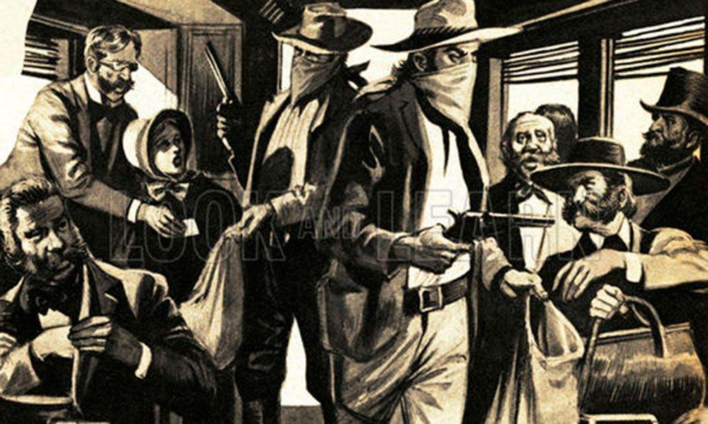 Train robbers True West Magazine