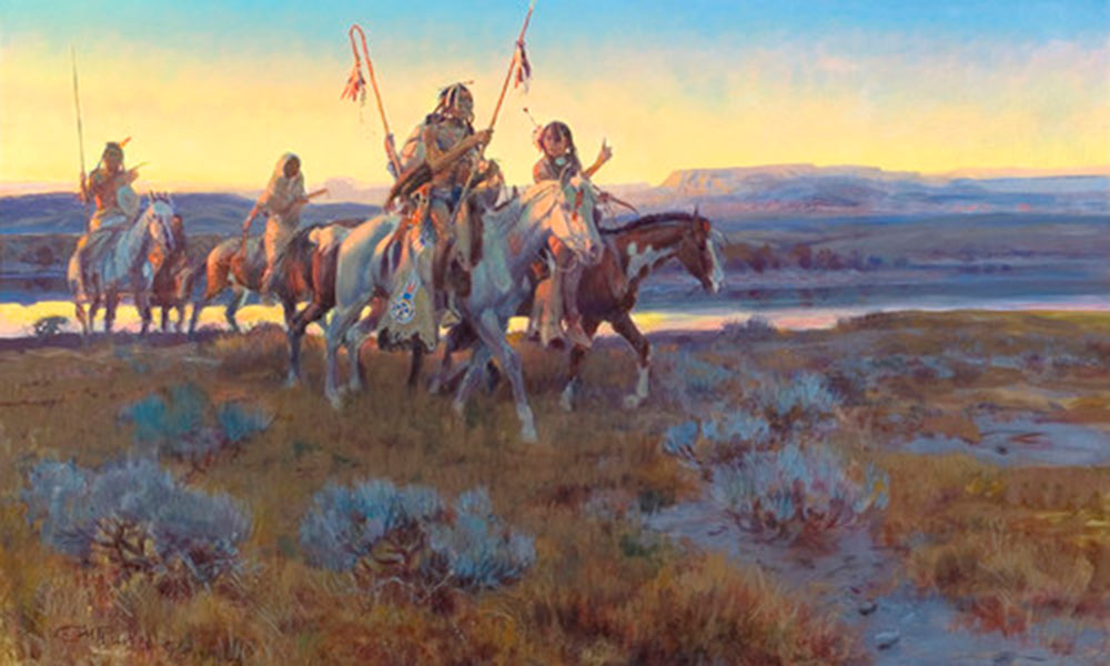 horses return indians true west magazine
