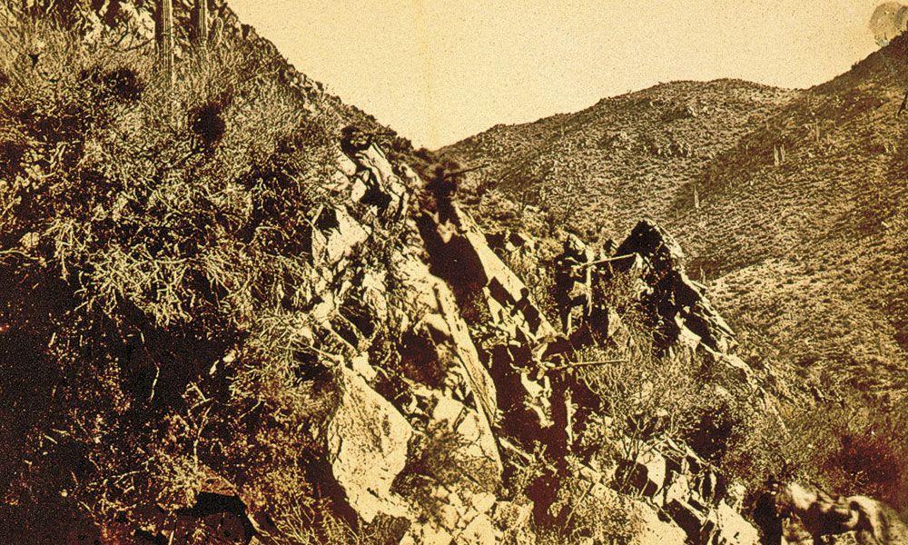 Apache hunter Howard B Cushing True West Magazine