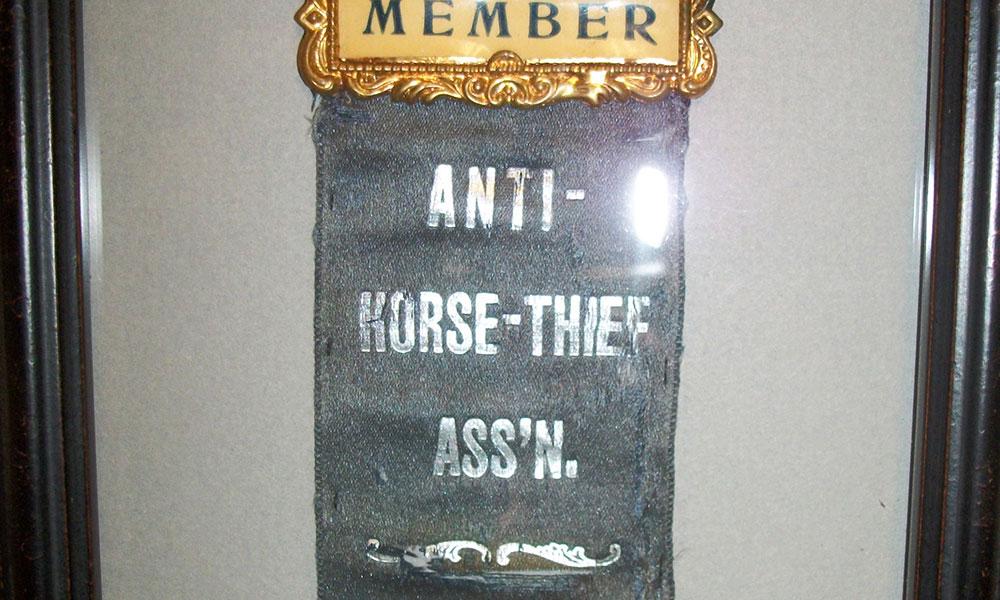 Anti-Horse Thief Association Upholding Law True West Magazine