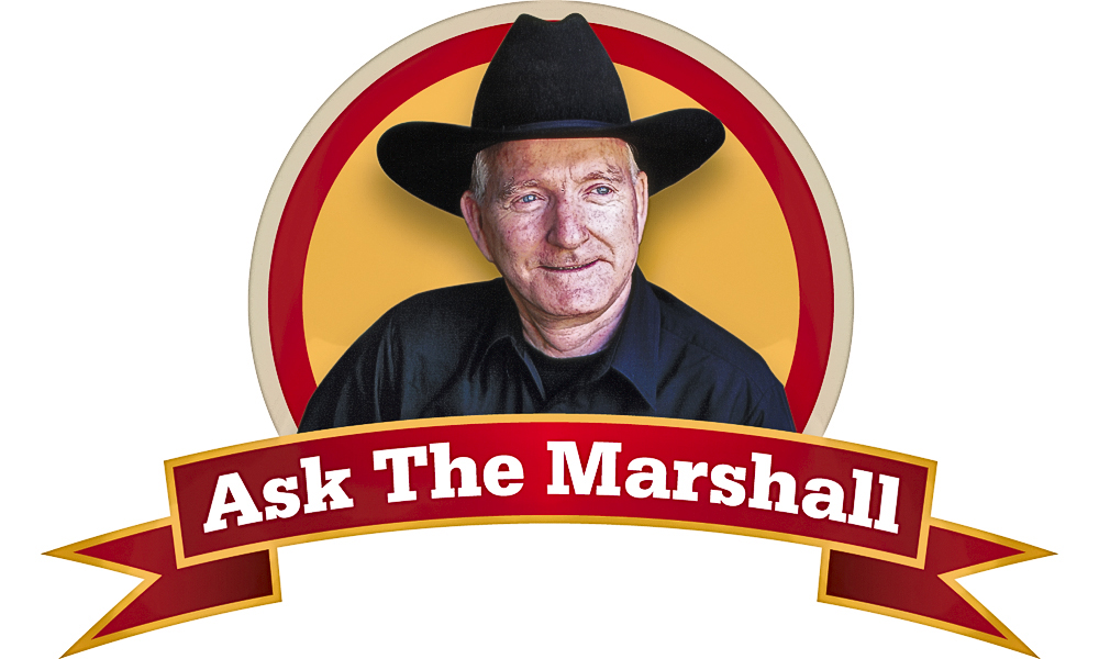 What's the difference between an Old West marshal and a sheriff?