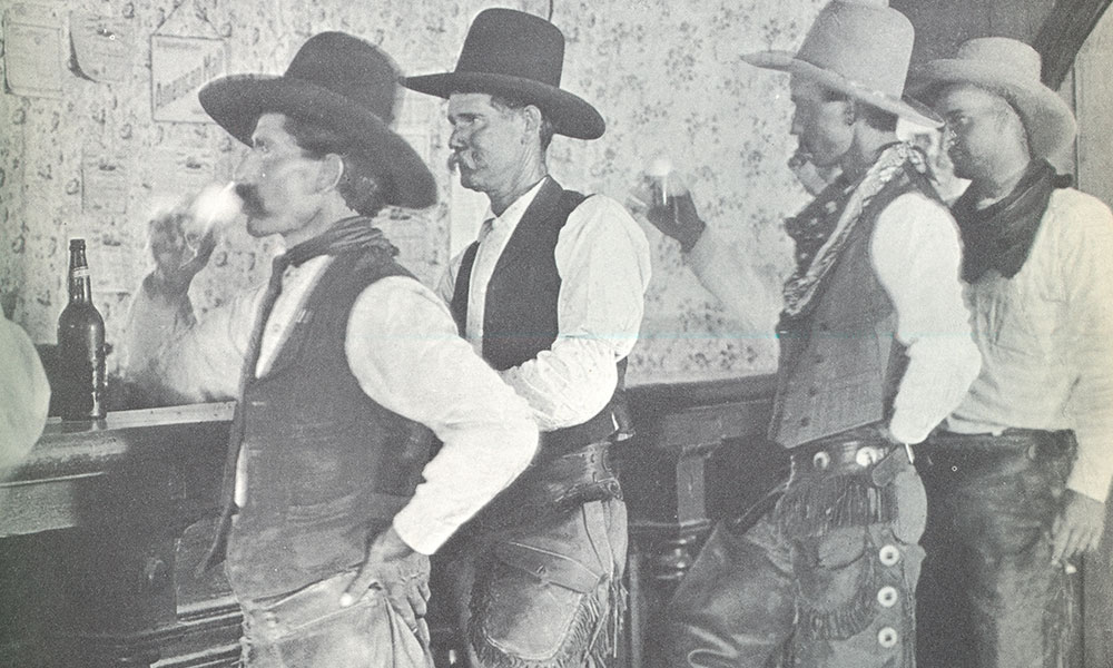 underage drinking old west true west magazine