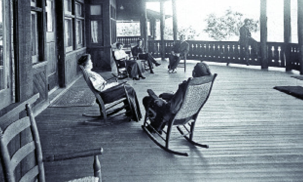 grand canyon porch rocking chair true west magazine