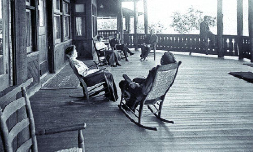 grand canyon porch rocking chair true west magazine