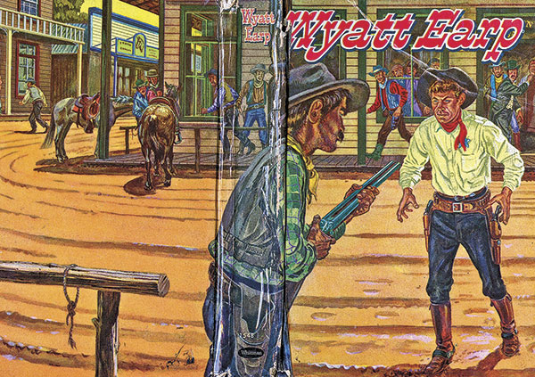 Ellsworth Showdown Wyatt Earp Ben Thompson true west magazine