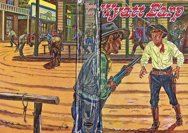 Ellsworth Showdown Wyatt Earp Ben Thompson true west magazine