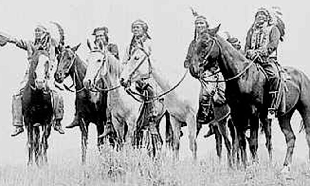 Comanche indians horses true west magazine