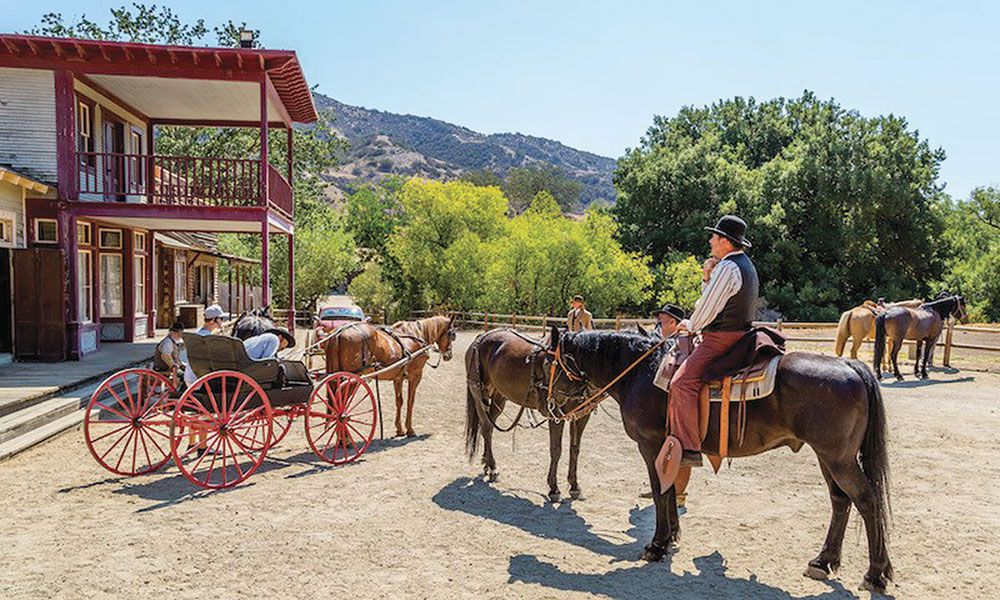 Paramount Ranch Park Agoura Hills California western movies true west magazine