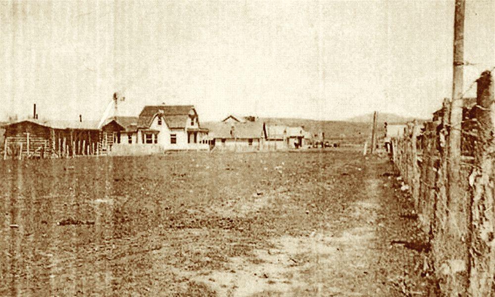 old west dixon wyoming field fence farm true west magazine