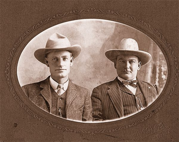 runnels county sheriff r p kirk bob goodfellow noah wilkerson classic gunfights dixon wyoming true west magazine