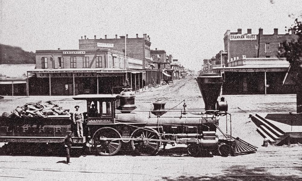 old sacramento state historic park railroad train true west magazine