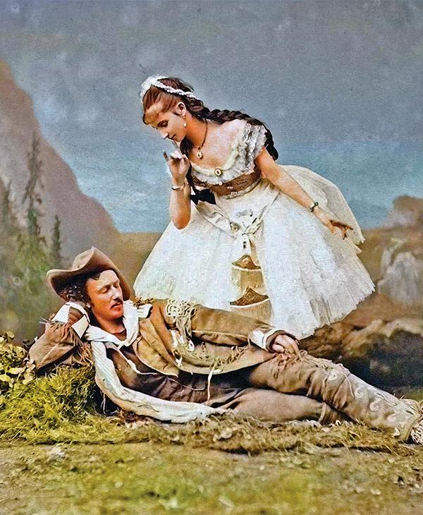 texas jack omohundro giuseppina morlacchi combination acting troupe on set true west magazine