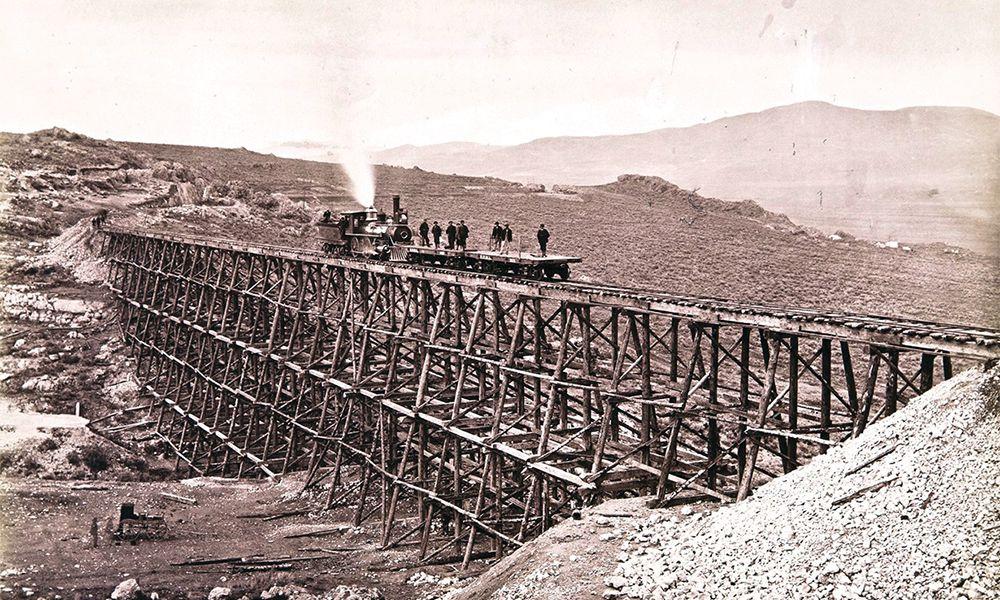 union pacific railroad museum wasatch mountains train true west magazine