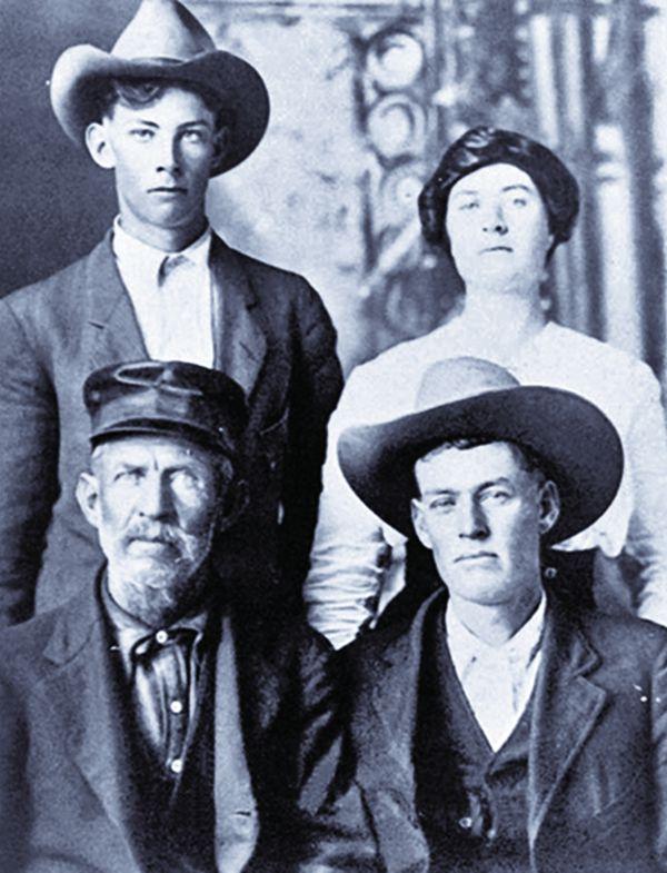 frank hamer family photo texas ranger true west magazine