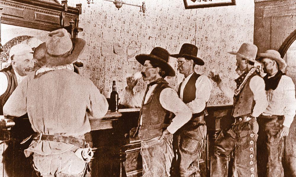 cowboys saloon tascosa texas wild west town beer true west magazine