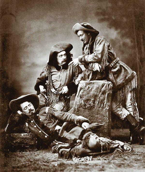 texas jack buffalo bill buntline scouts of the prairie play actors true west magazine