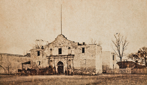the alamo building historical photograph true west magazine
