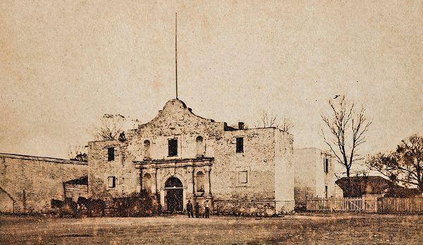 the alamo building historical photograph true west magazine