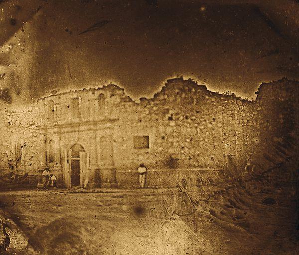 daguerreotype the alamo texas historical photograph true west magazine