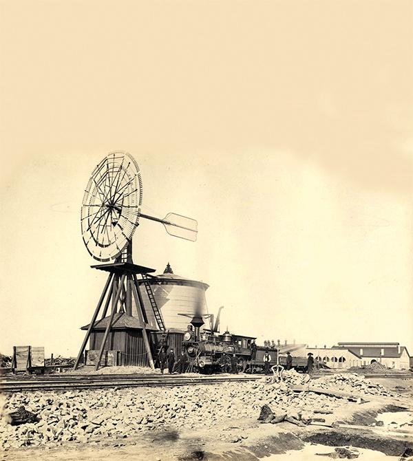 laramie windmill train transcontinental railroad true west magazine