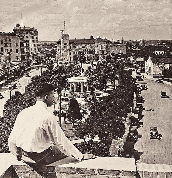 the alamo building city historical photograph true west magazine