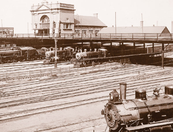 omaha union station burlington train station historical photograph train railroad true west magazine