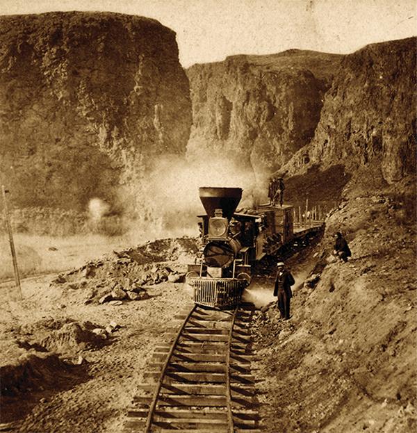 transcontinental railroad palisades train true west magazine