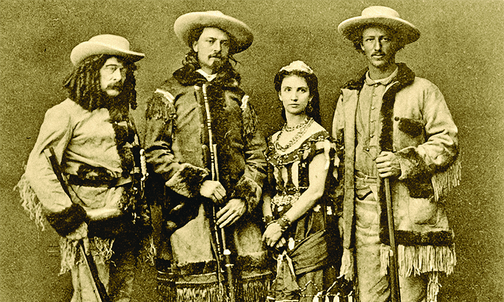 texas jack buffalo bill acting troupe giuseppina morlacchi true west magazine