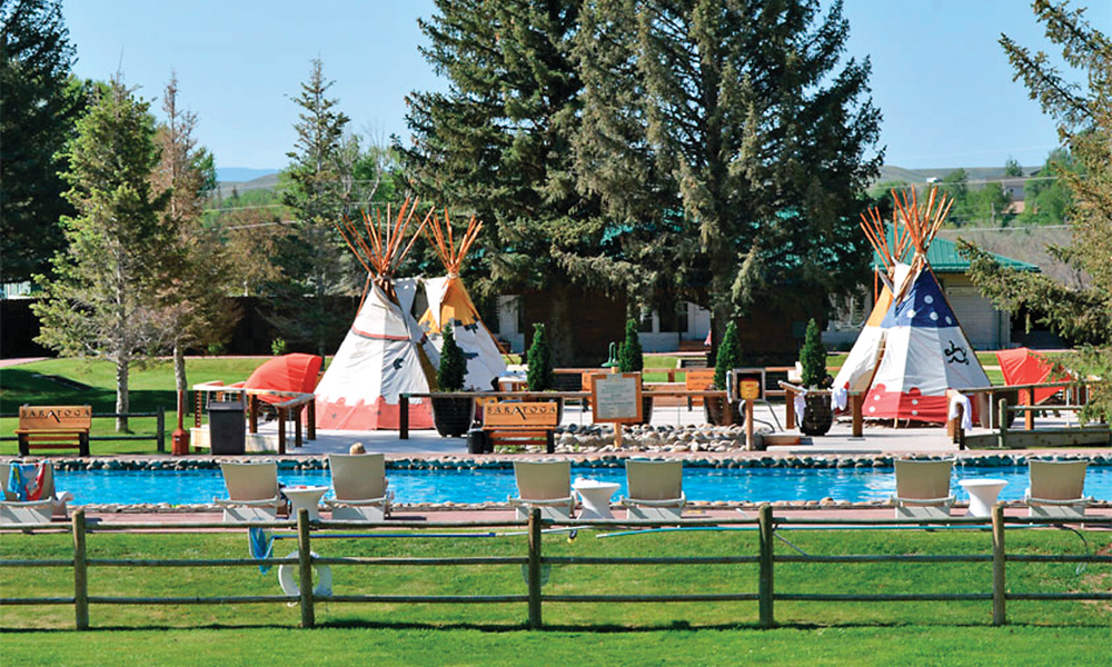 saratoga resort and spa teepee pool true west magazine