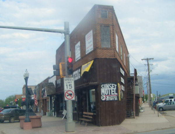 narrow building in belle fourche south dakota true west magazine
