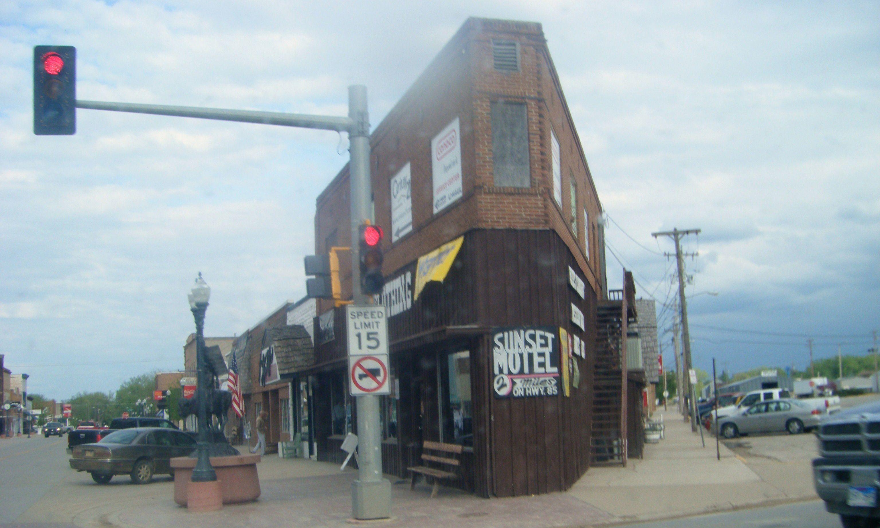 narrow building in belle fourche south dakota true west magazine