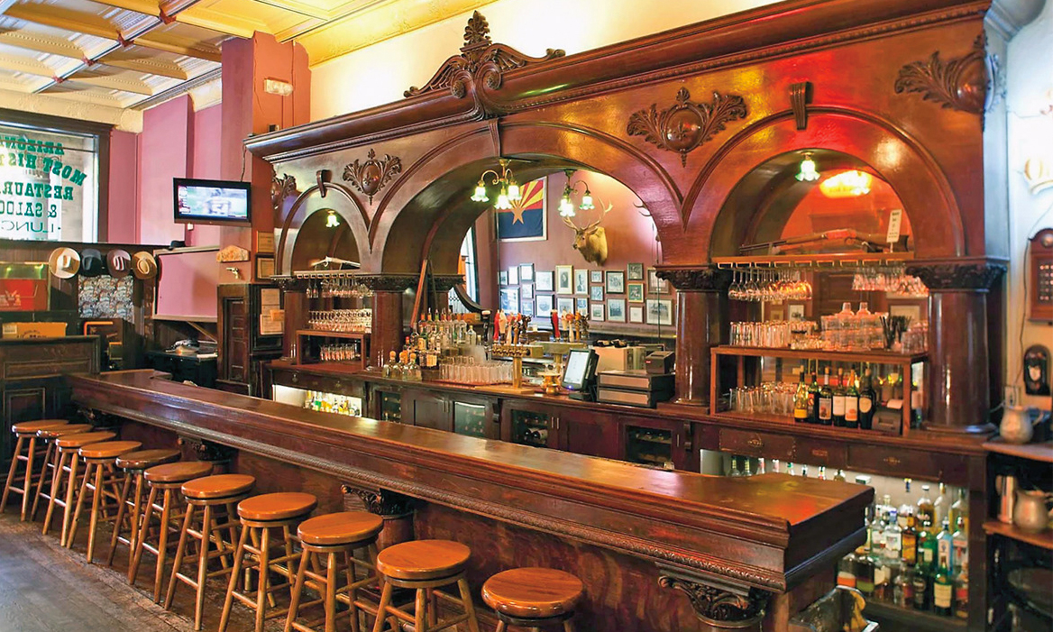 the palace restaurant and saloon bar prescott az true west magazine