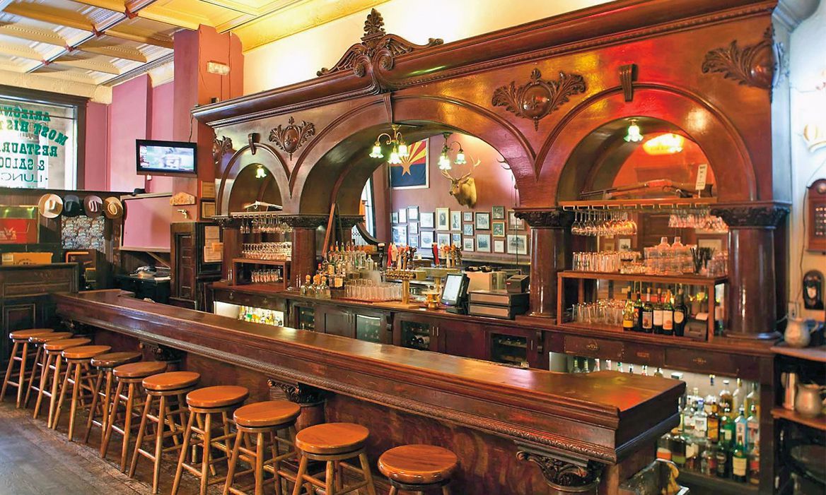 the palace restaurant and saloon bar prescott az true west magazine