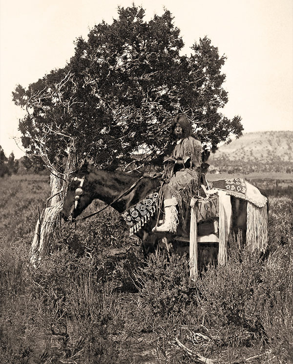 uinta ute girl on horseback sai-ar's daughter true west magazine