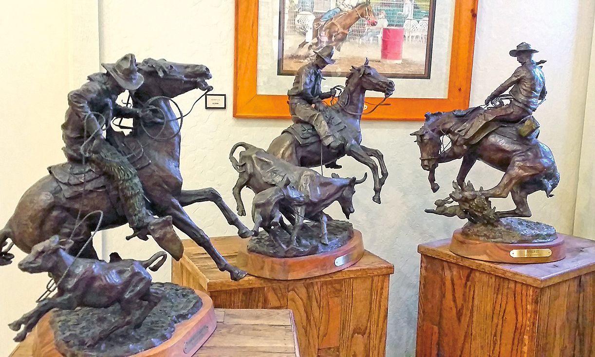 western statues cave creek museum arizona true west magazine