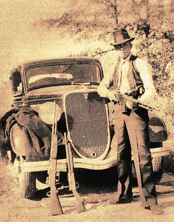 bonnie parker clyde barrow frank hamer true west magazine