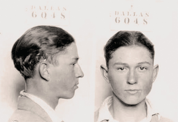 clyde barrow mugshot frank hamer true west magazine