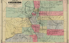historic map of colorado true west magazine