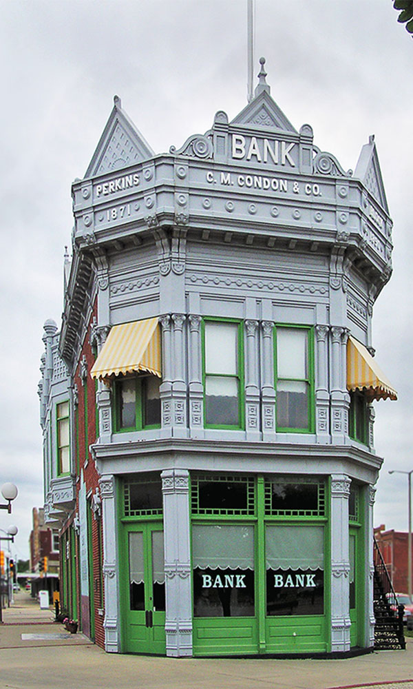 cm london bank coffeyville historic plaza true west magazine