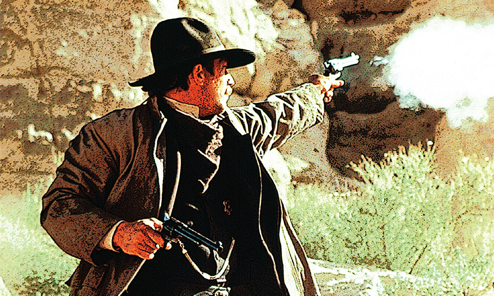 kevin costner in dances with wolves shooting gun true west magazine