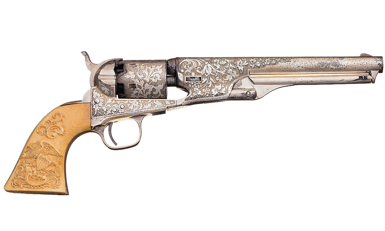 six shooter 1861 navy colt true west magazine