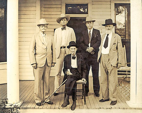 bonnie and clyde frank hamer historical photograph true west magazine